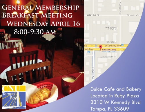 General Membership Breakfast